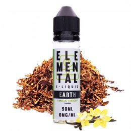 elemental earth vanilla tobacco - elemental e-liquid
